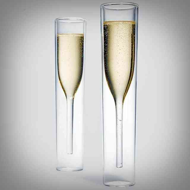 Inside Out Champagne Glass Set