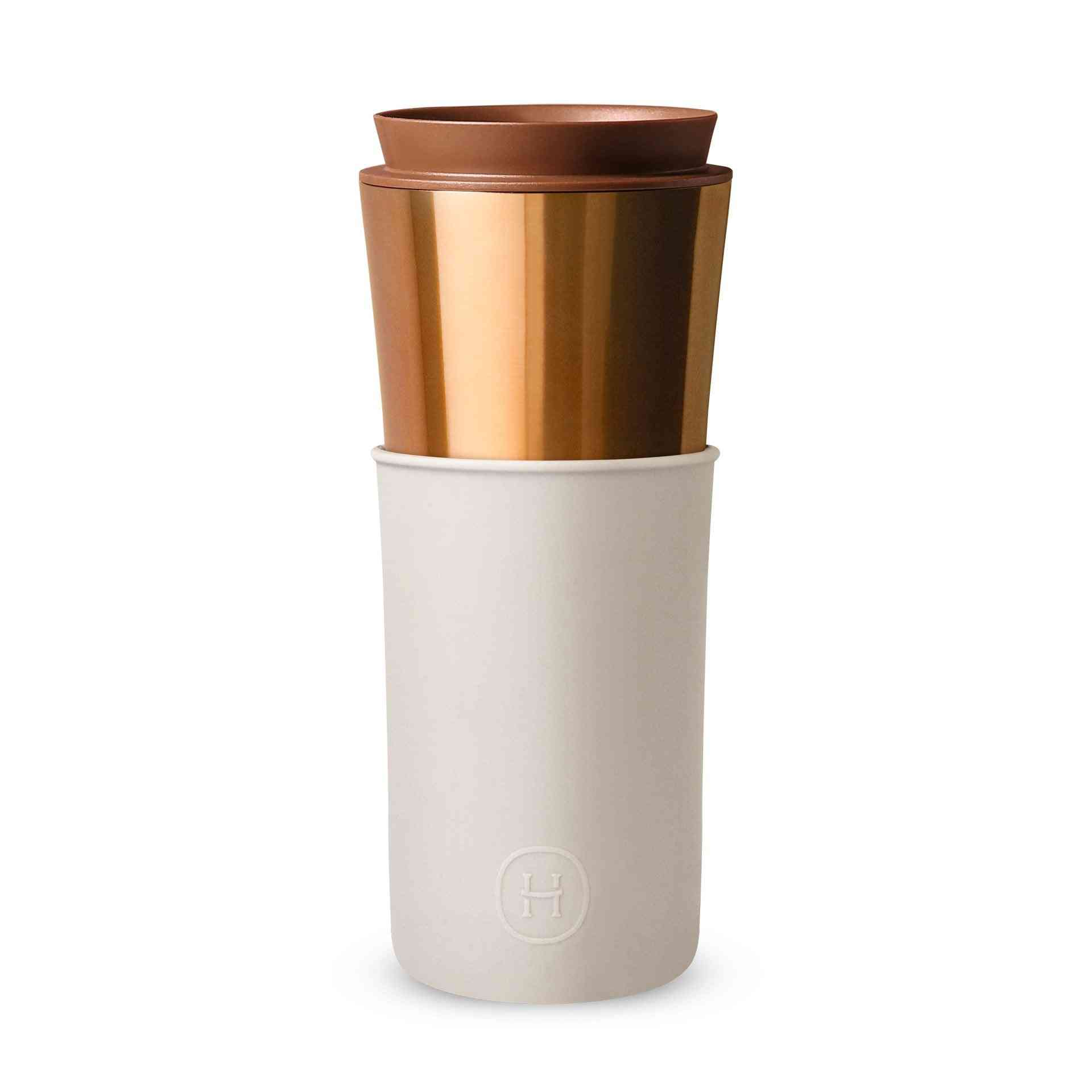 2-in-1 Stainless Steel, Vacuum Insulated Water Bottle