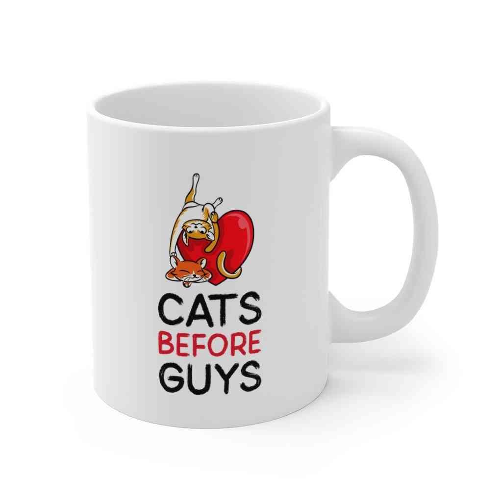 Cats Before Guys Mug