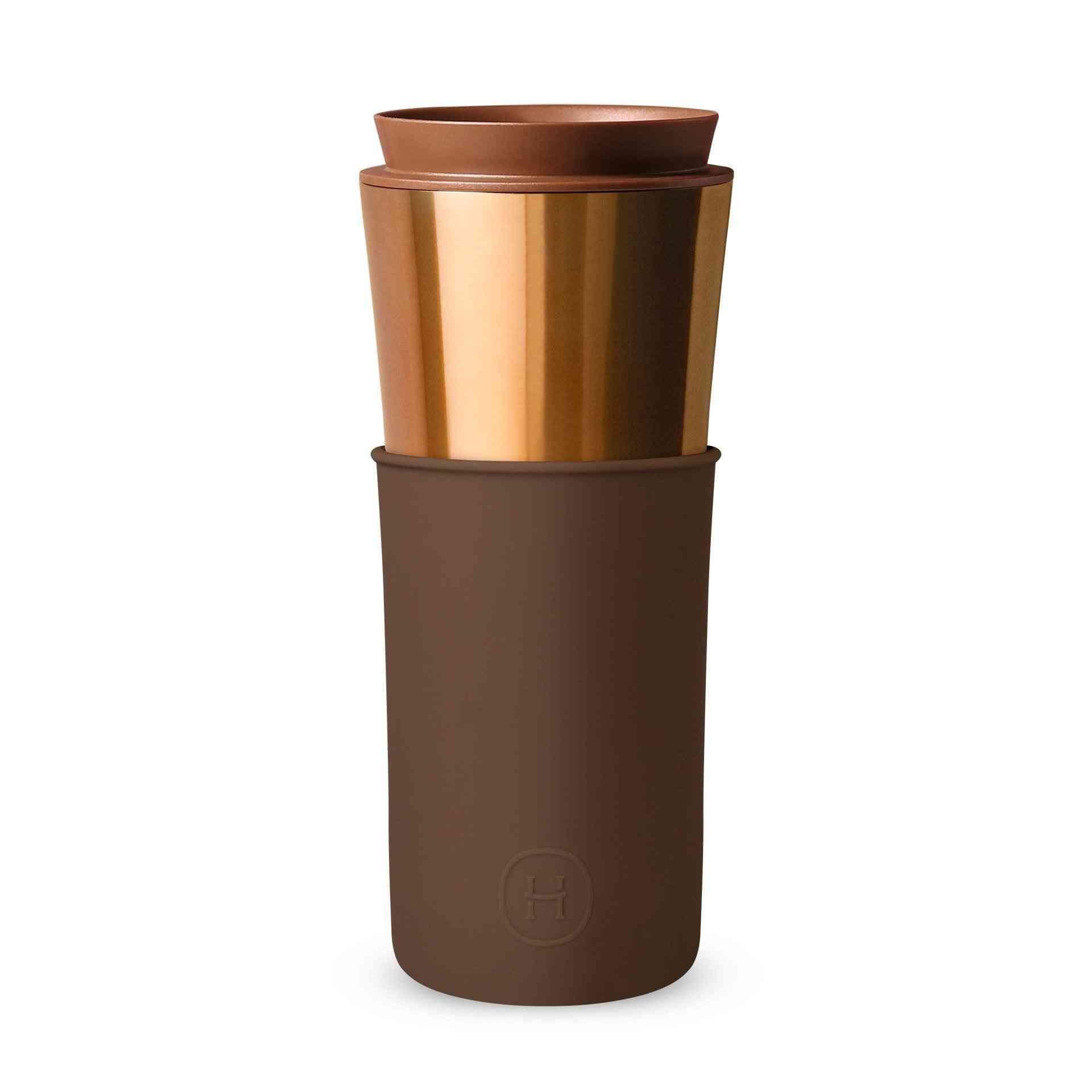 2-in-1 Design Vacuum Thermal Travel Mug