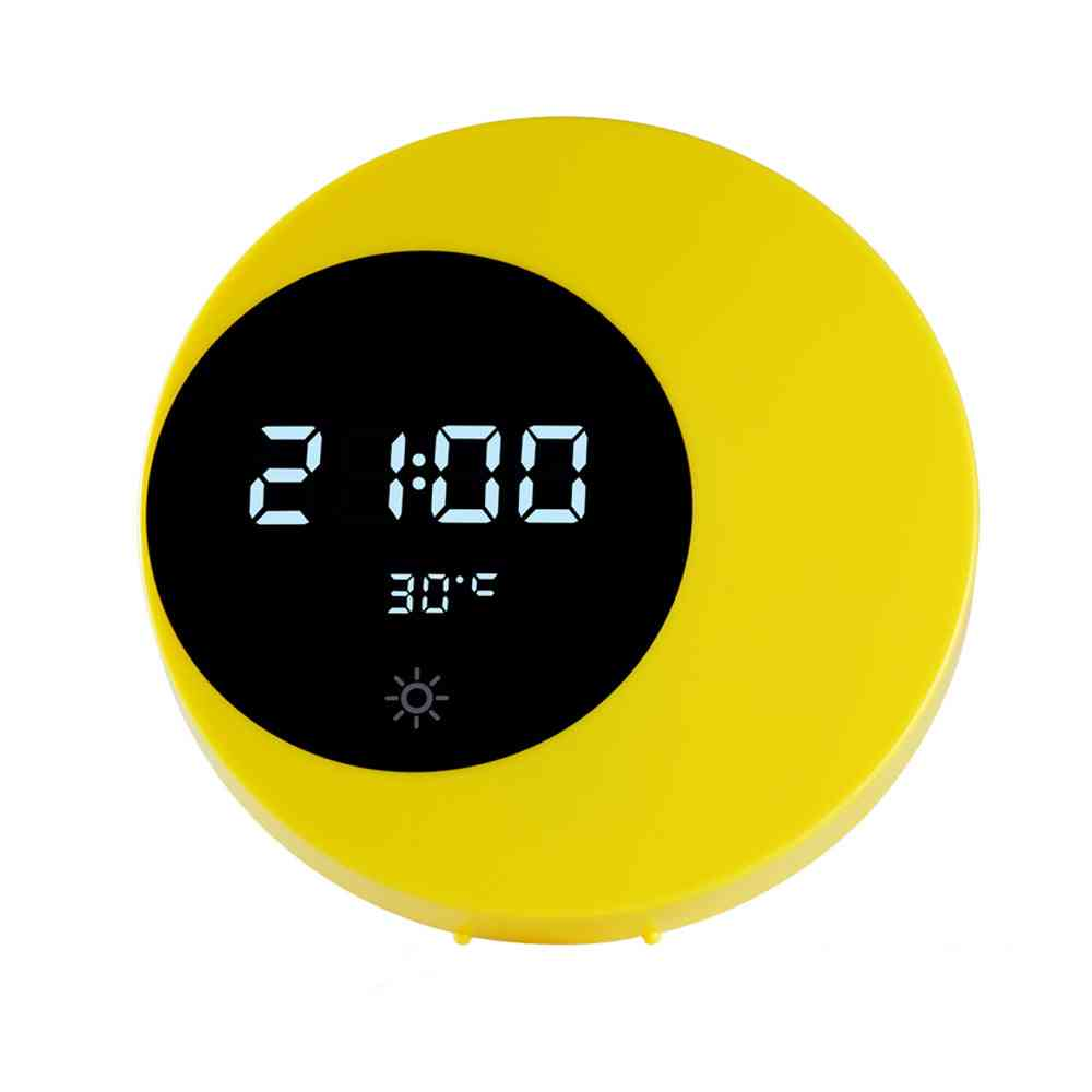 Moon Clock Multifunctional Rechargeable