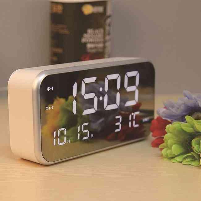 Mirror Alarm Clock