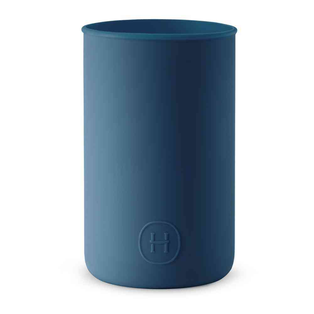 Navy Blue Silicone Sleeve Drinkware