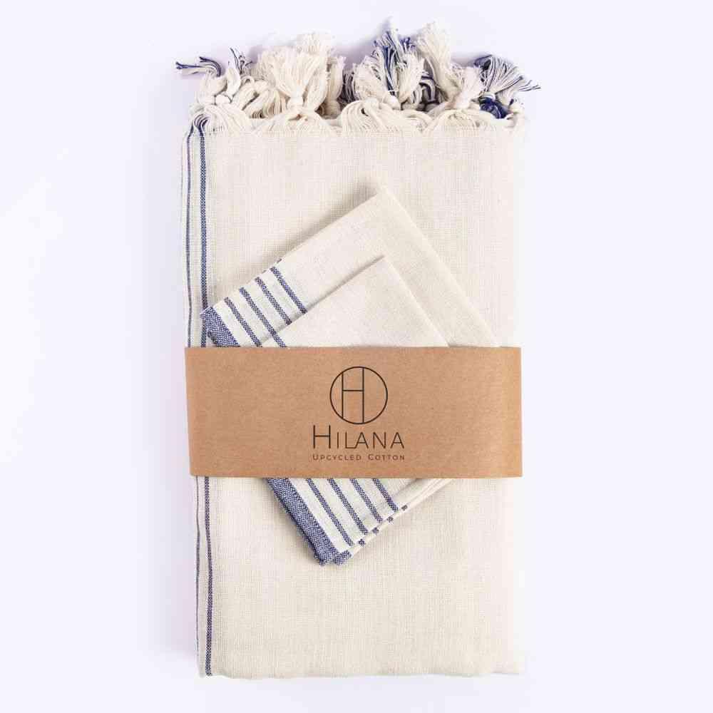 Kayseri Tablecloth Set, Stripes Design