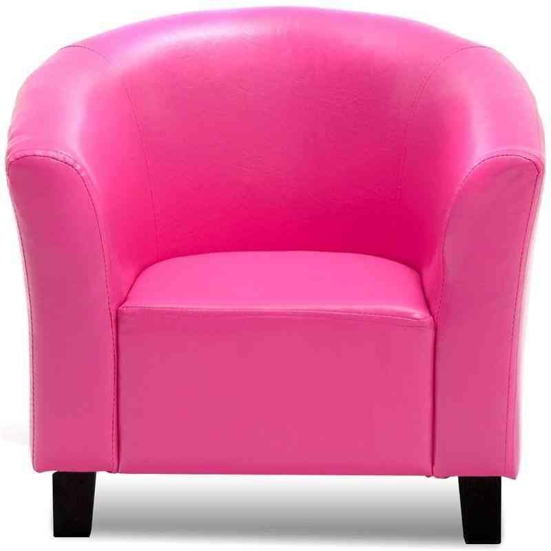 Kids Sofa Armrest Chair Sturdy Non-slip Feet Sofa