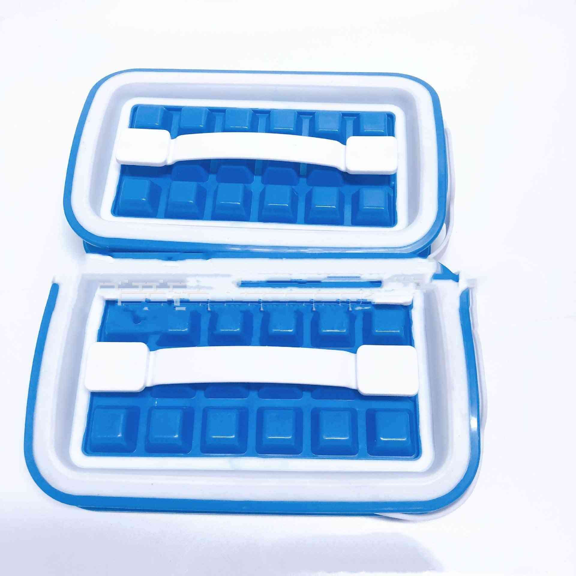 Silicone Ice Cube 36 Grids Tray Diy Kettle Mold