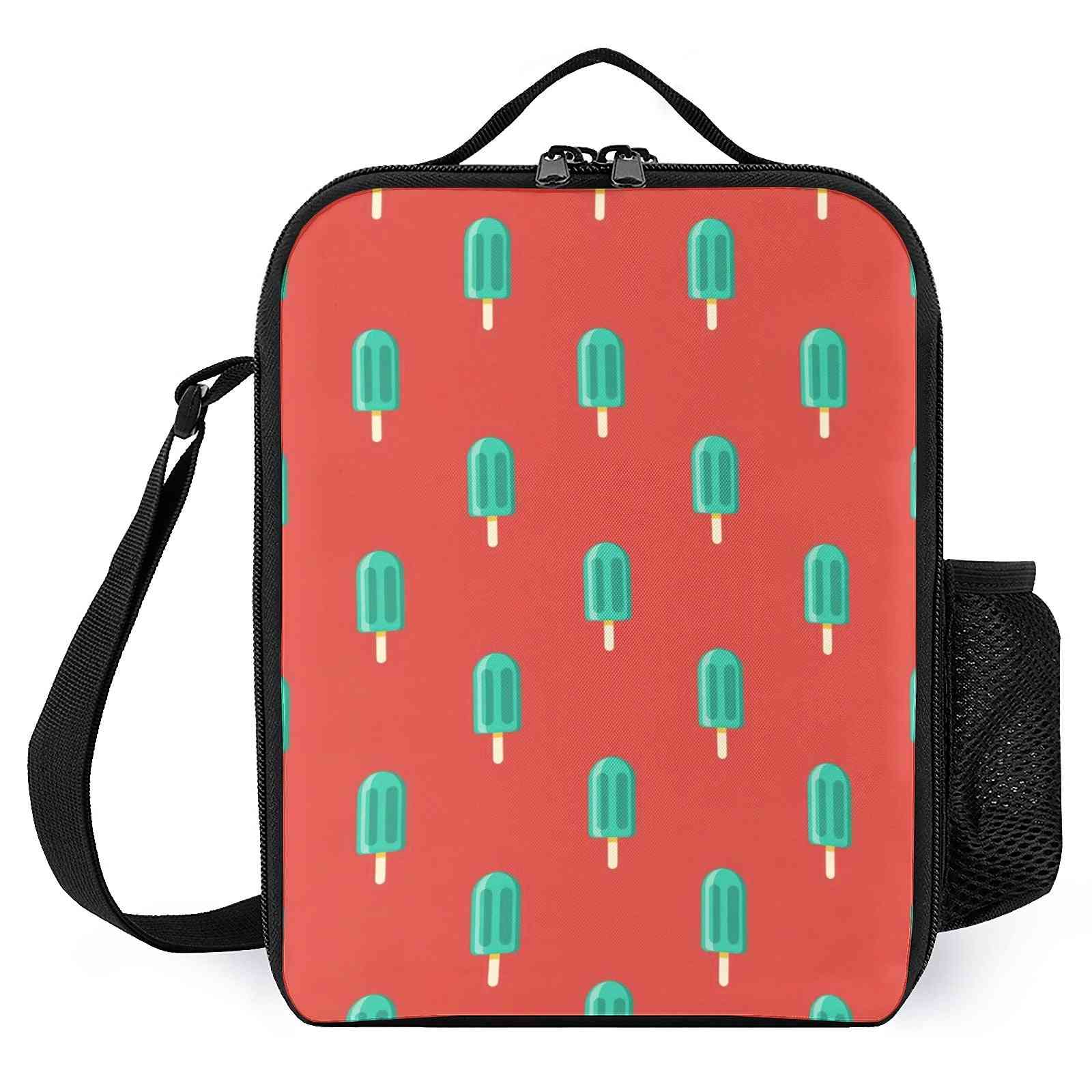 Cute Popsicle Pattern  Printed Lunch Bags