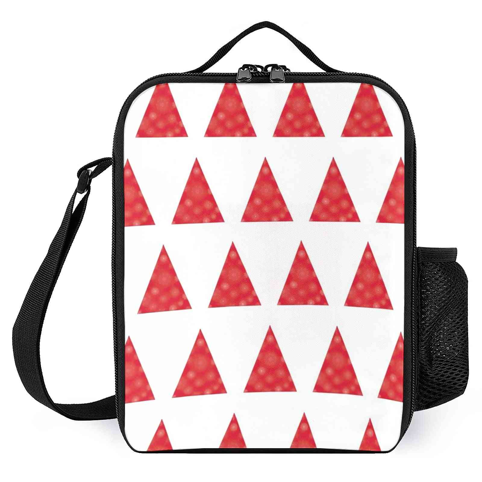 Minimalist Christmas Tree Printed Lunch Bags For School