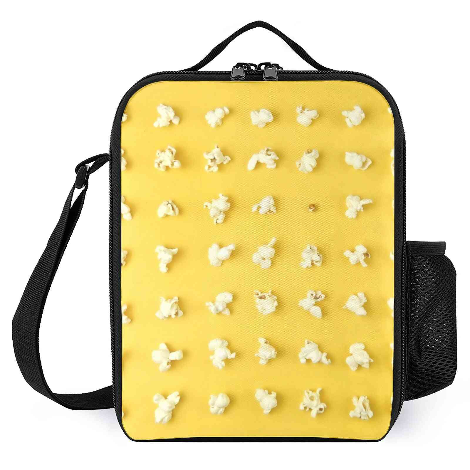 Popcorn Kernels Printed Lunch Bags