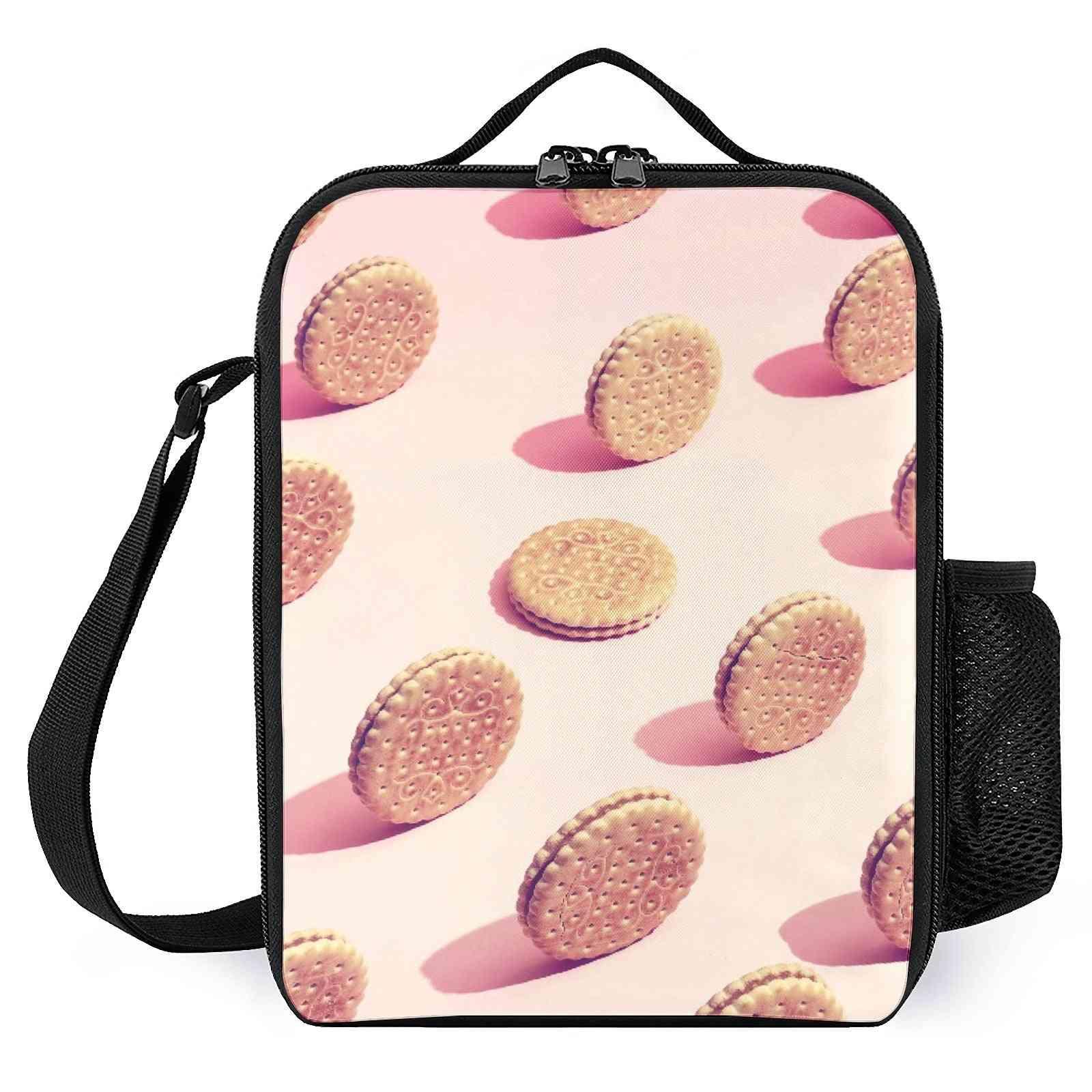 Pop Art Cookies Printed Lunch Bags