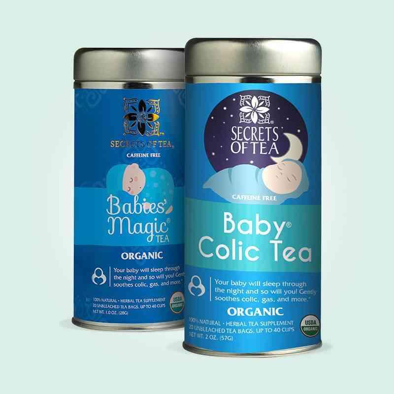 Baby Colic & Babies' Magic Tea Pack