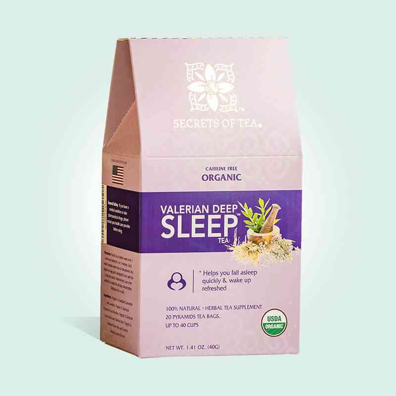 Valerian Tea Deep Sleep Nighttime Tea