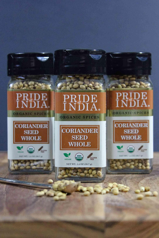 Organic Coriander Seed Whole