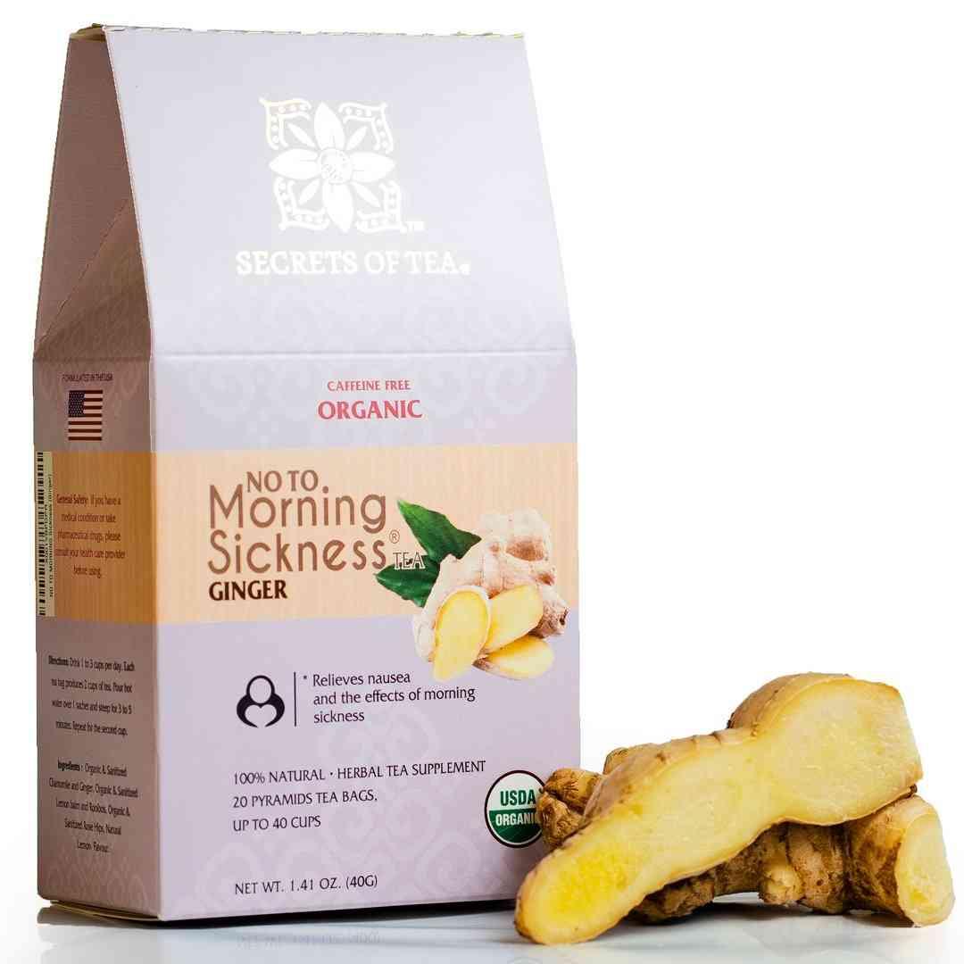 Morning Sickness Ginger Tea