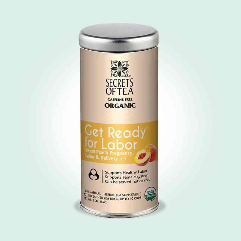 Sweet Peach Labor Prep Tea