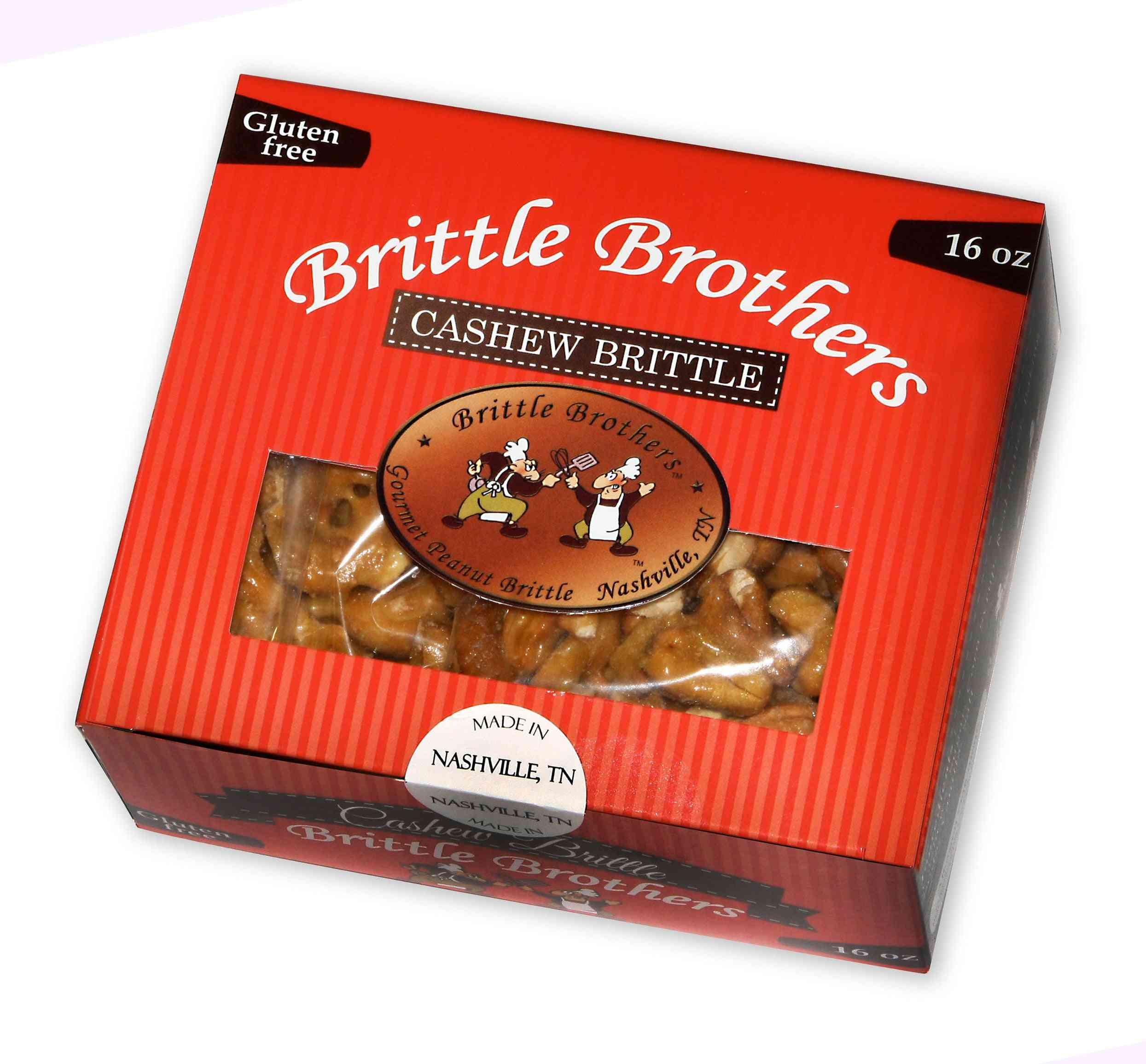 Gourmet Cashew Brittle