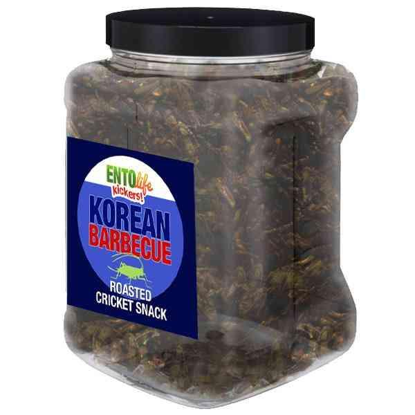 Korean Barbecue Flavored Cricket Snack