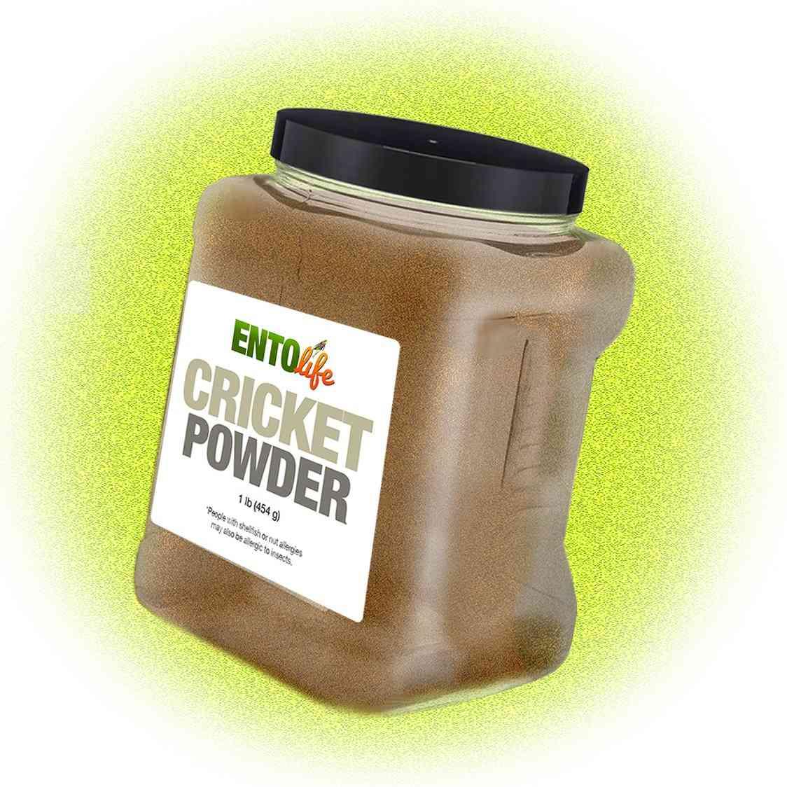 Prebiotic Cricket Powder