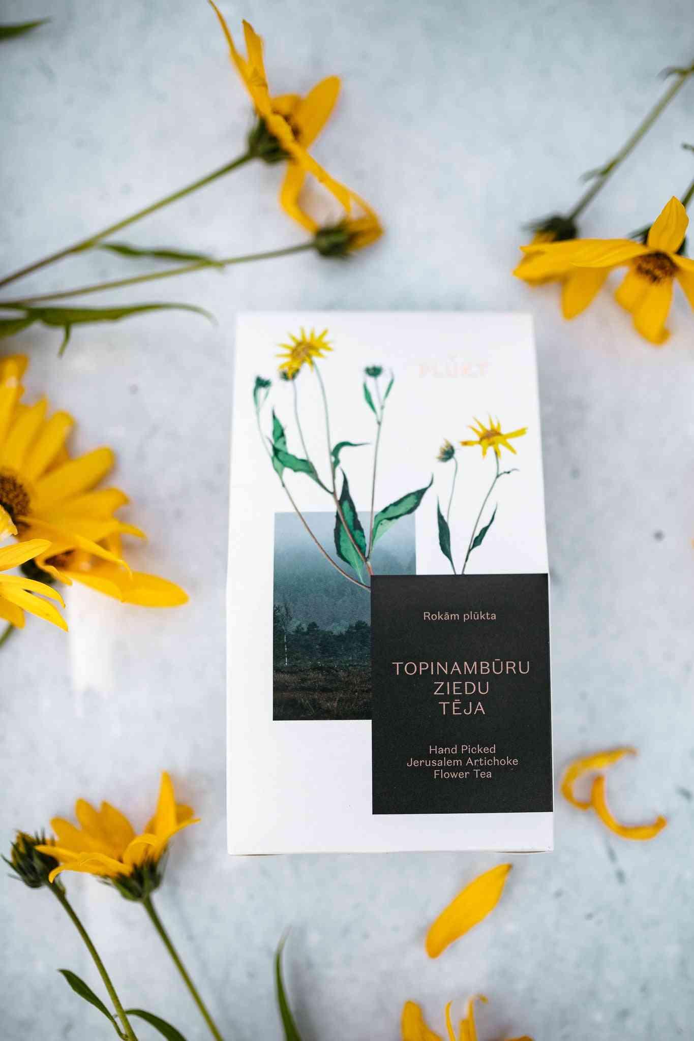 Jerusalem Artichoke Flower Tea
