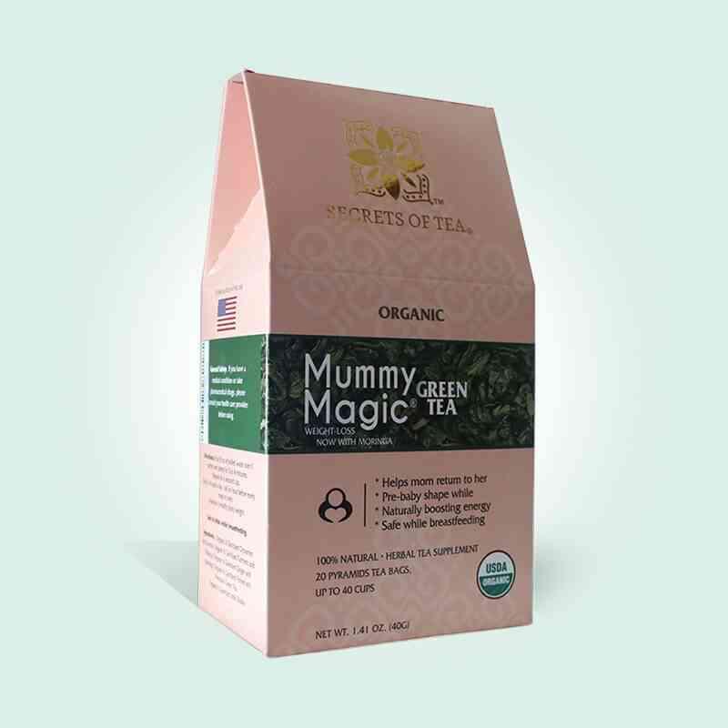 Mummy Magic Weight Loss Green Tea With Moringa