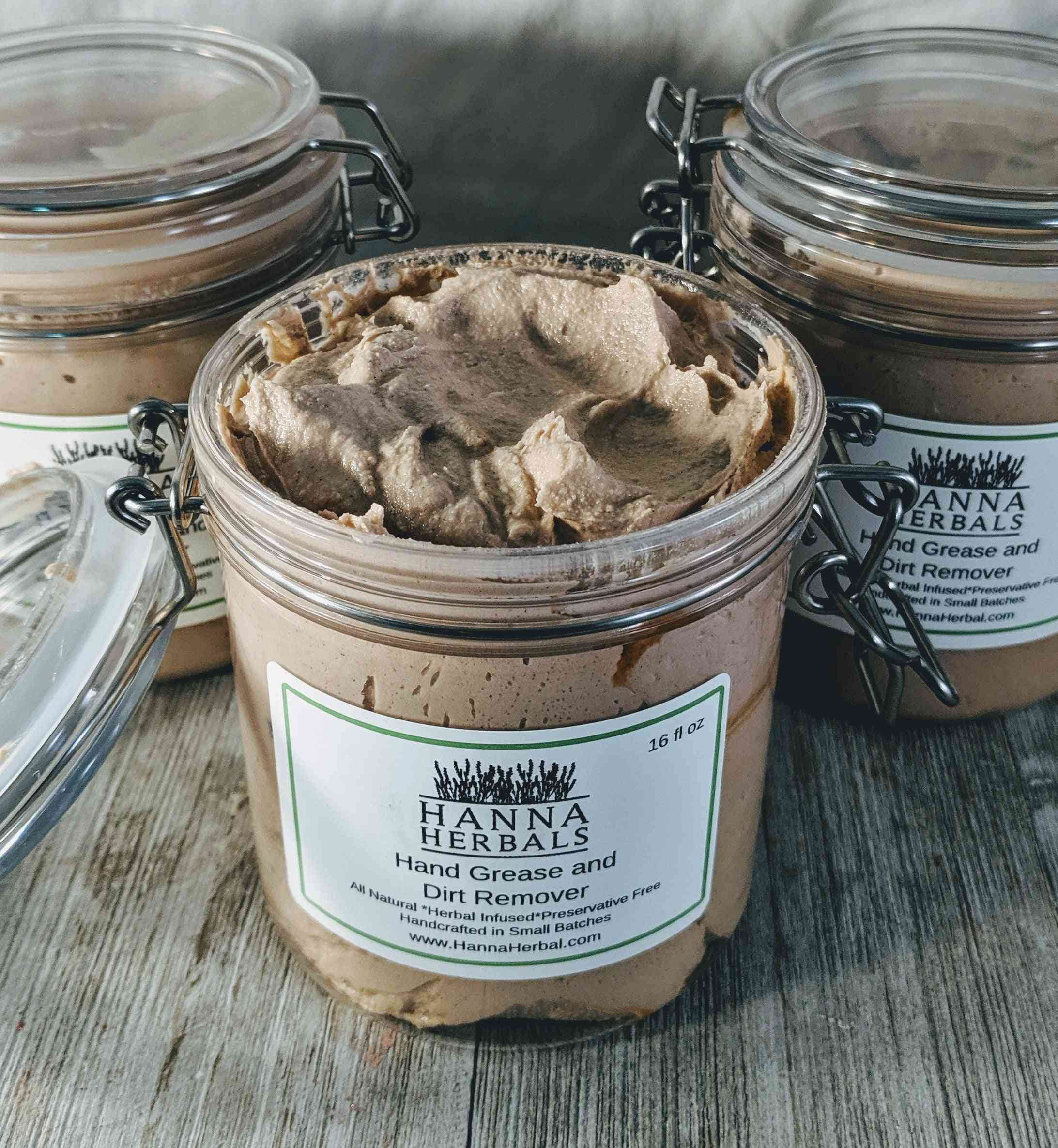 Hand Scrub For Dirt And Grease Remover