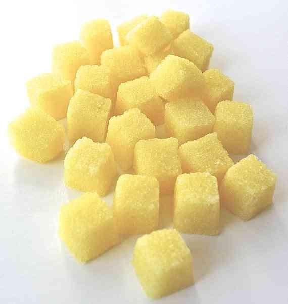 Lemon Flavored Sugar Cubes