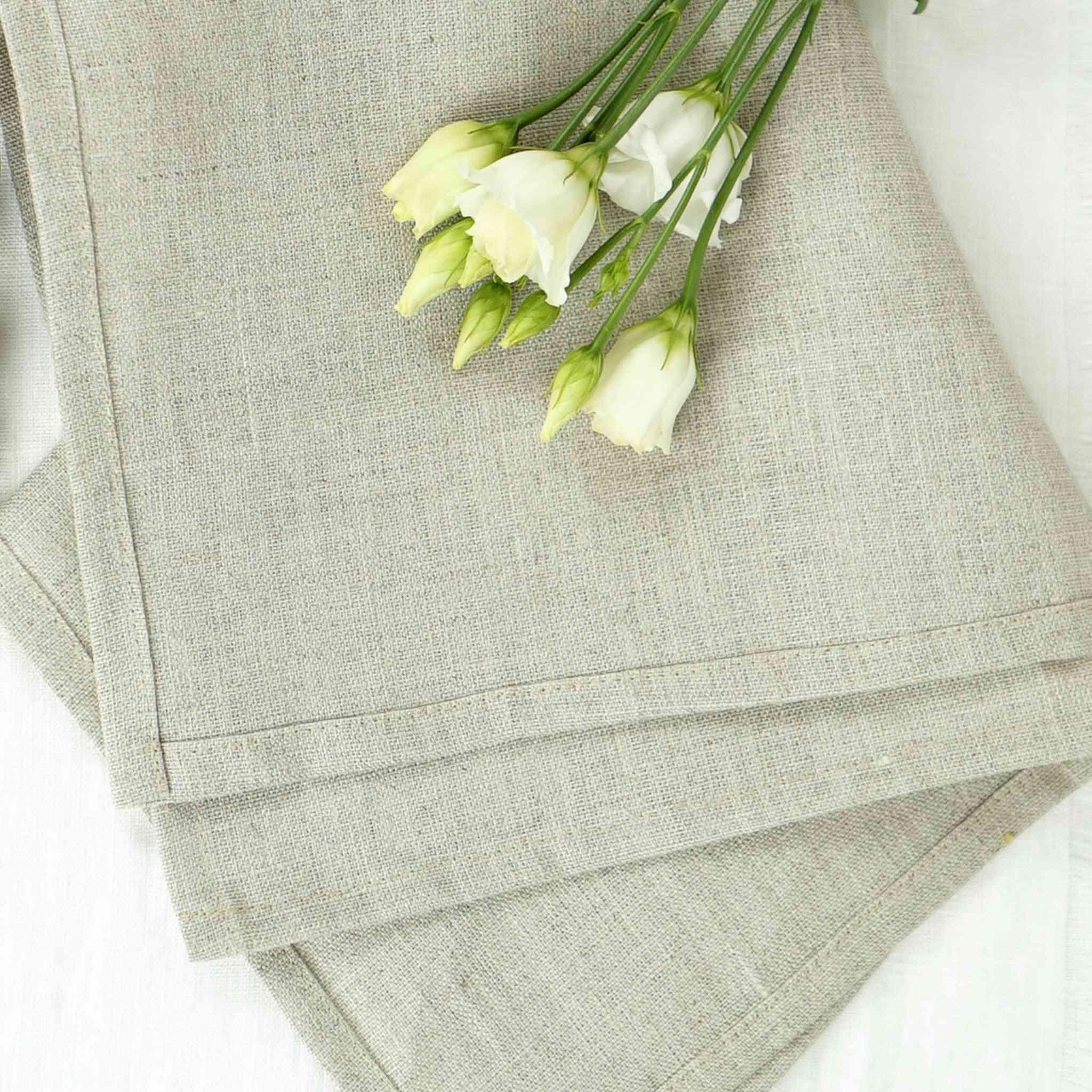 Set Of Handcrafted Linen Napkins