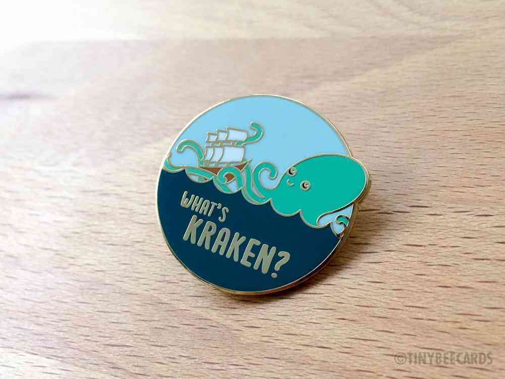 What's Kraken Hard Enamel Pin