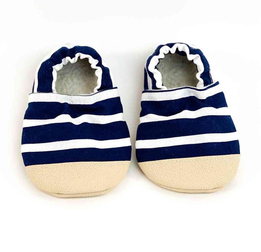 Striped Pattern Design Shoes