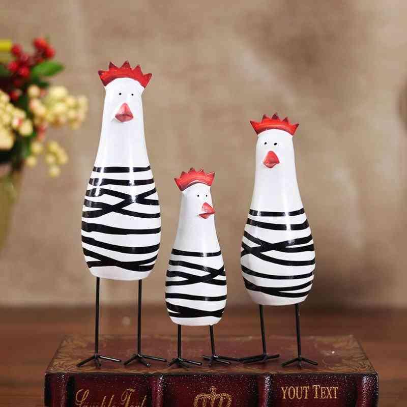 Wooden Chicken Set