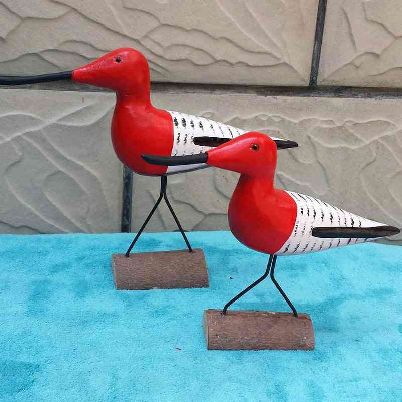 Wooden Shorebirds Set
