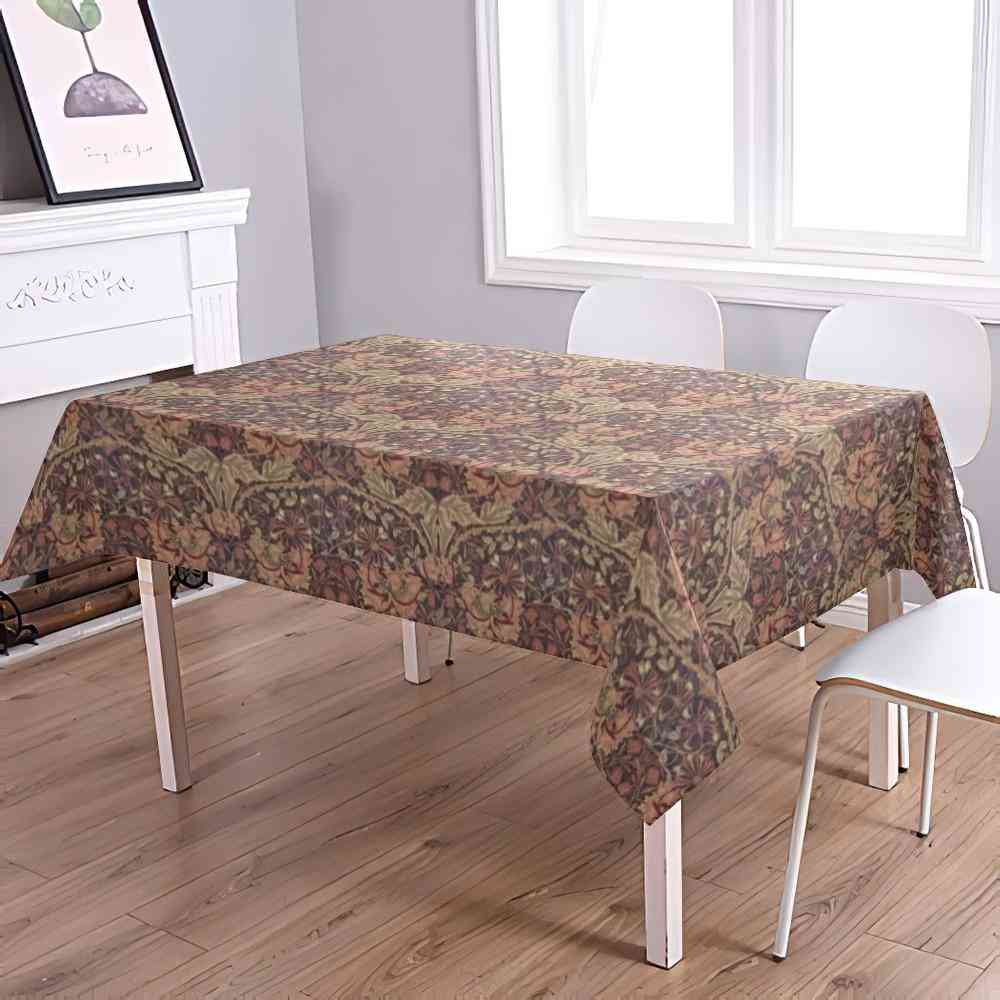 Vintage Style Art Print  Water-proof Tablecloths