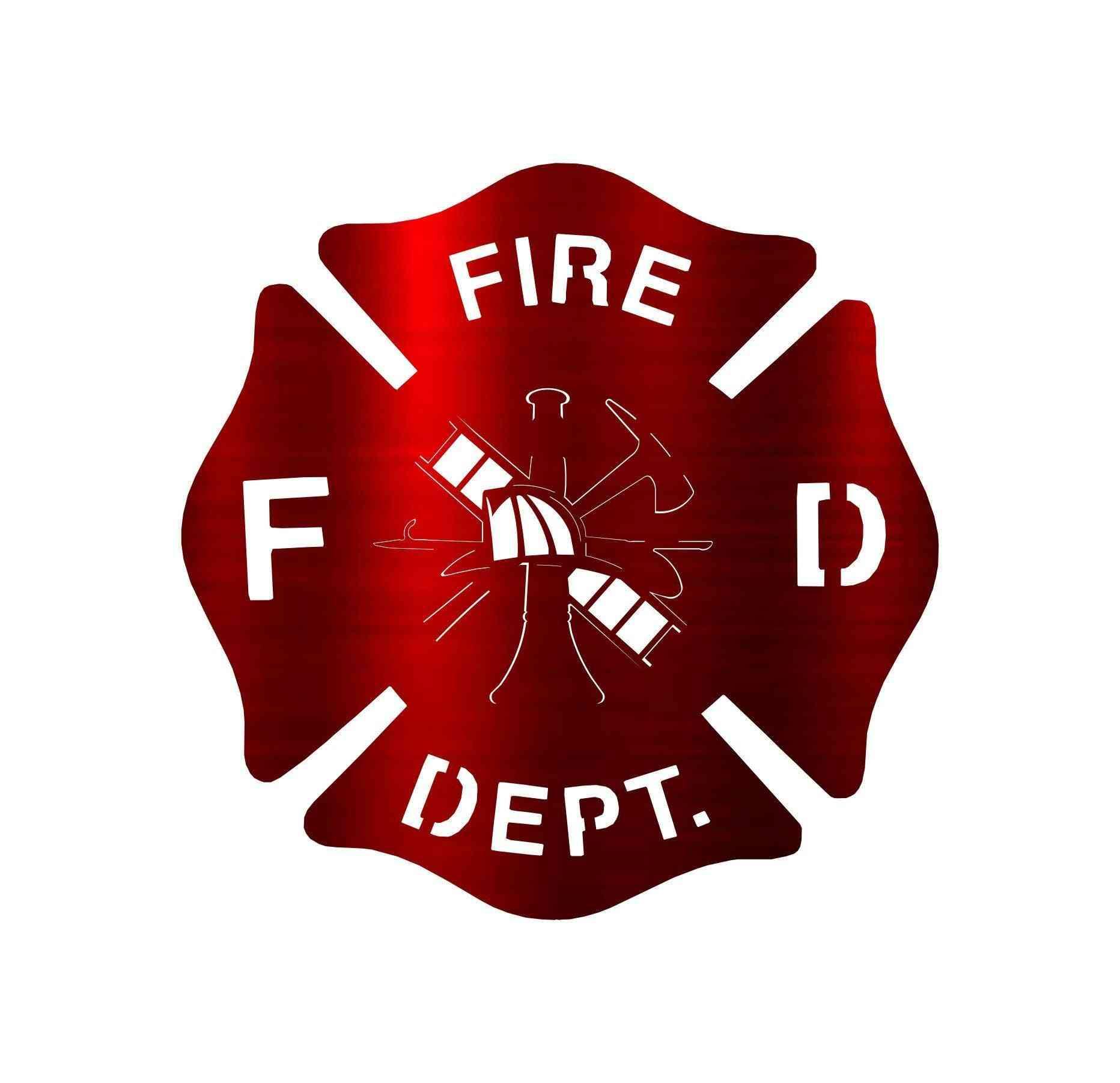 Unique Design Firefighter Badge