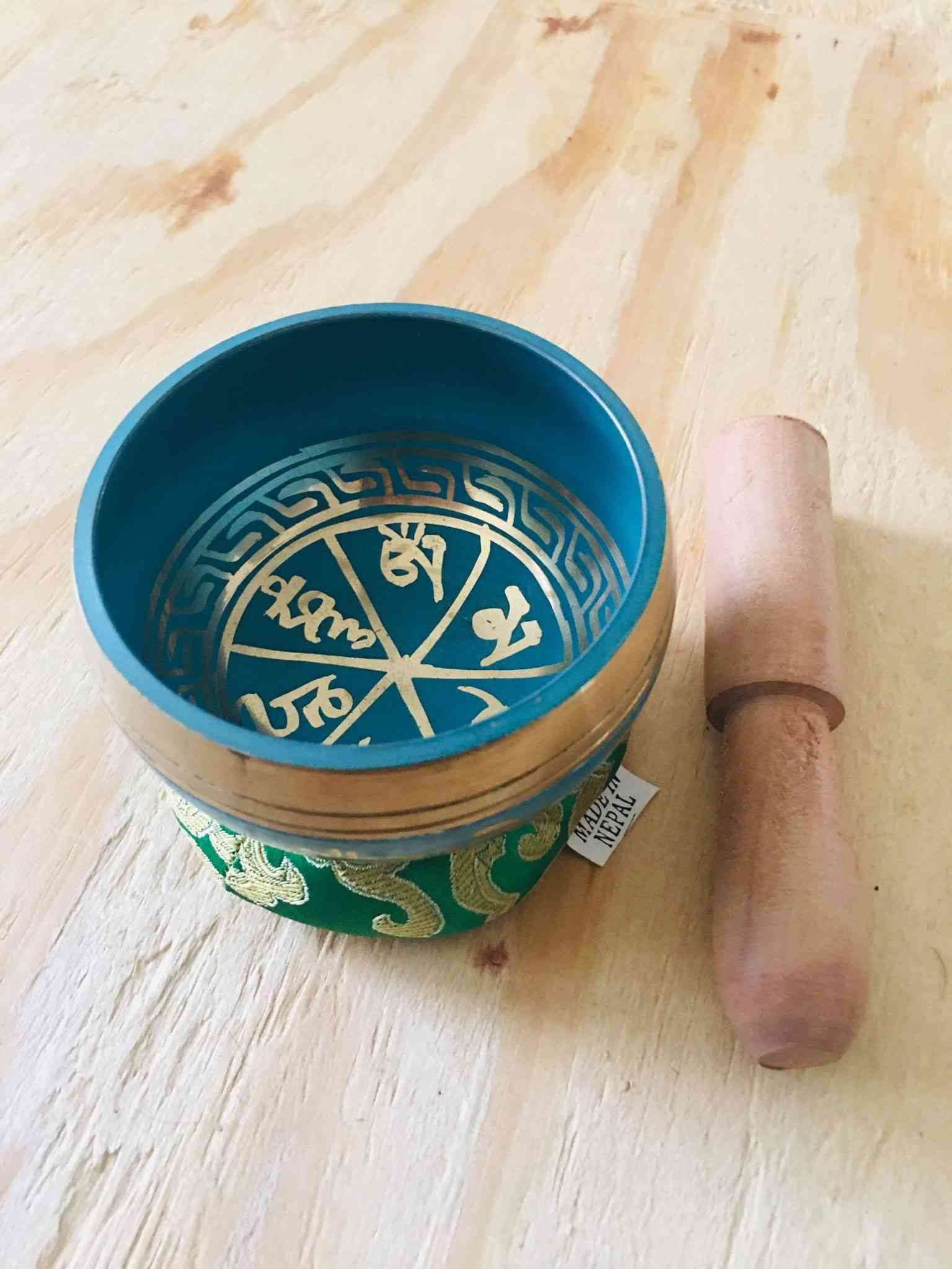Tibetan Hand Hammering Singing Bowl