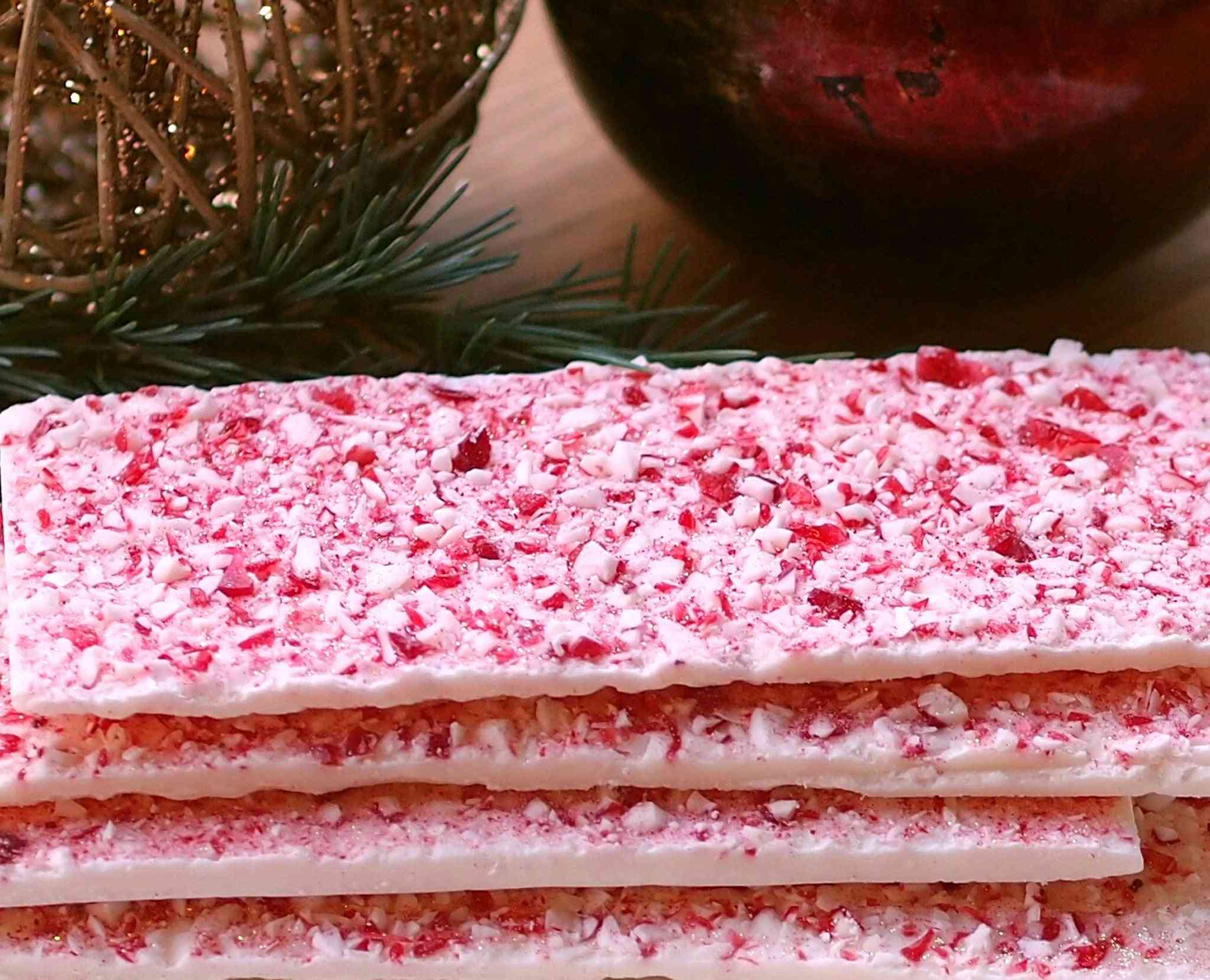 Almond And Peppermint Bark
