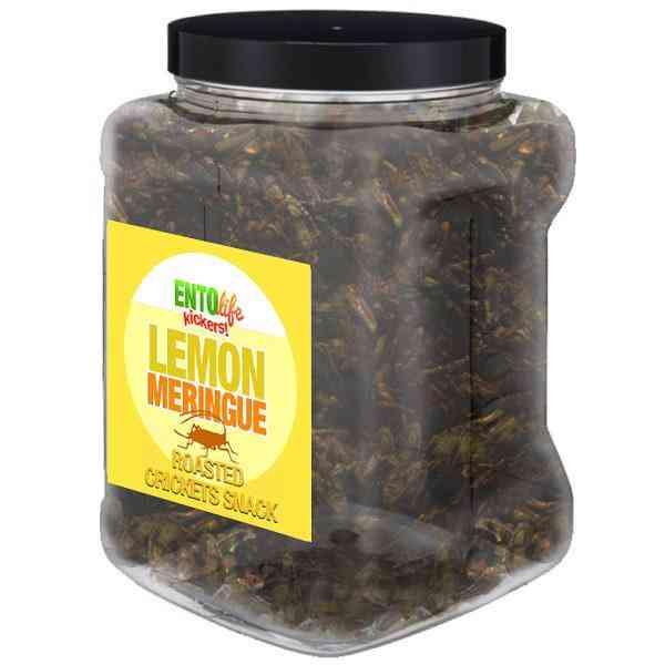Lemon Meringue Flavored Cricket Snack
