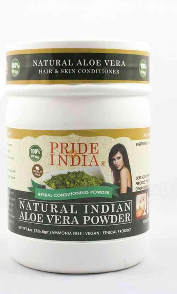 Natural Aloevera Herbal Hair & Skin Conditioning Powder