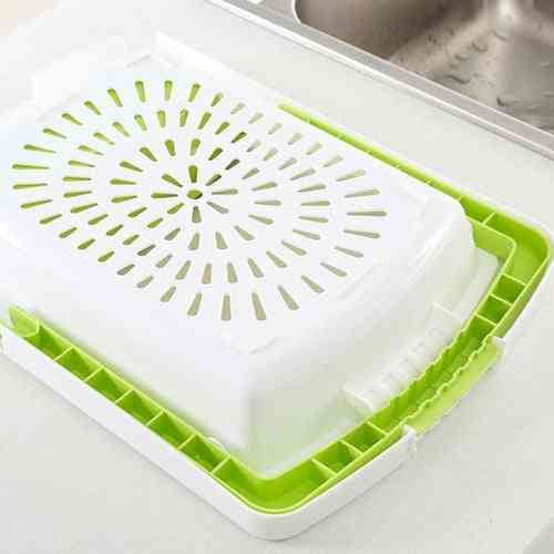 Multi-function Chopping Board And Drain Basket