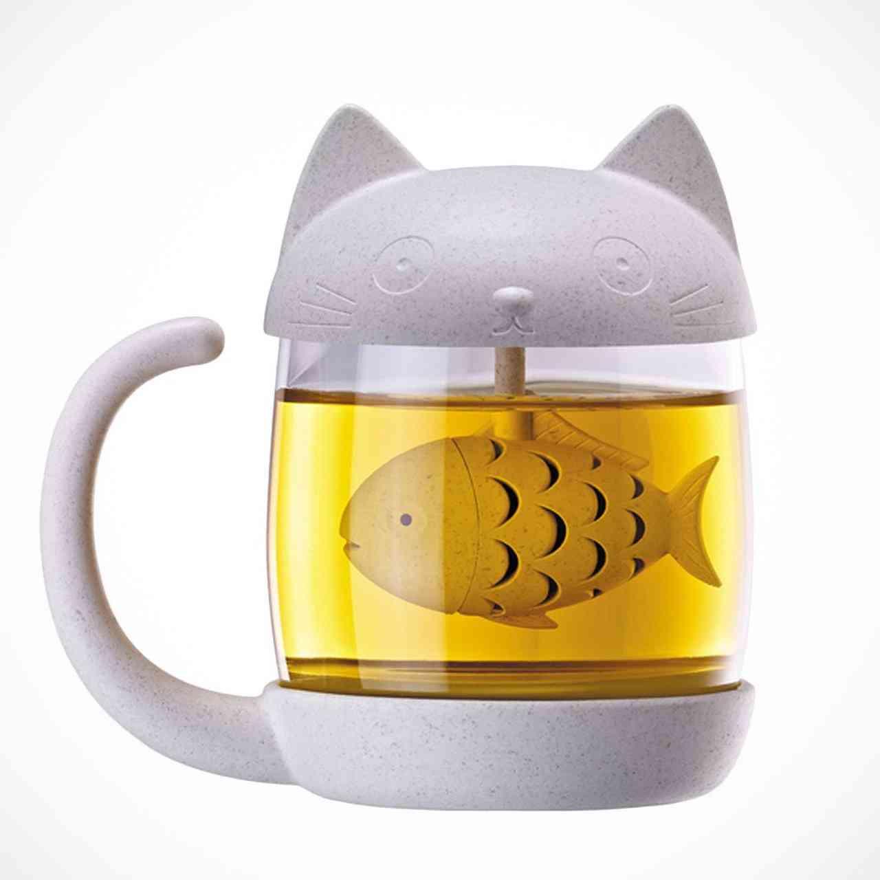 Fish Tea Infuser Mug