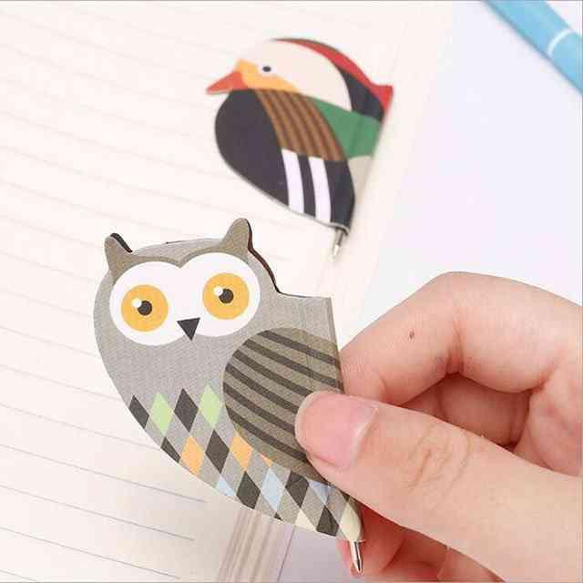 Magnetic Bookmark Cartoon Pen