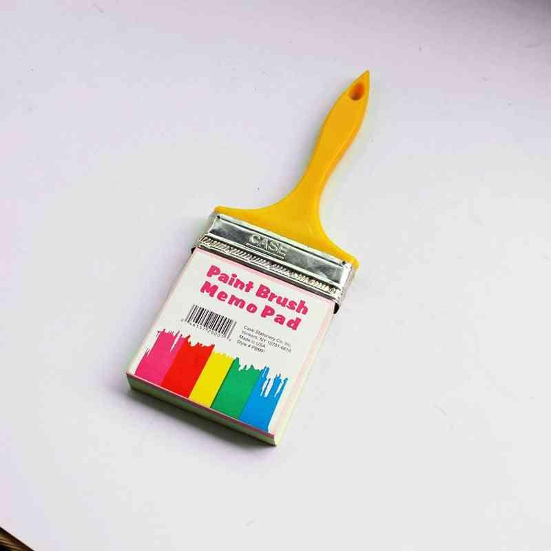Paint Brush Hanging Memo Pad