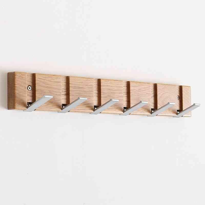Flip Wood Wall-mount Rack
