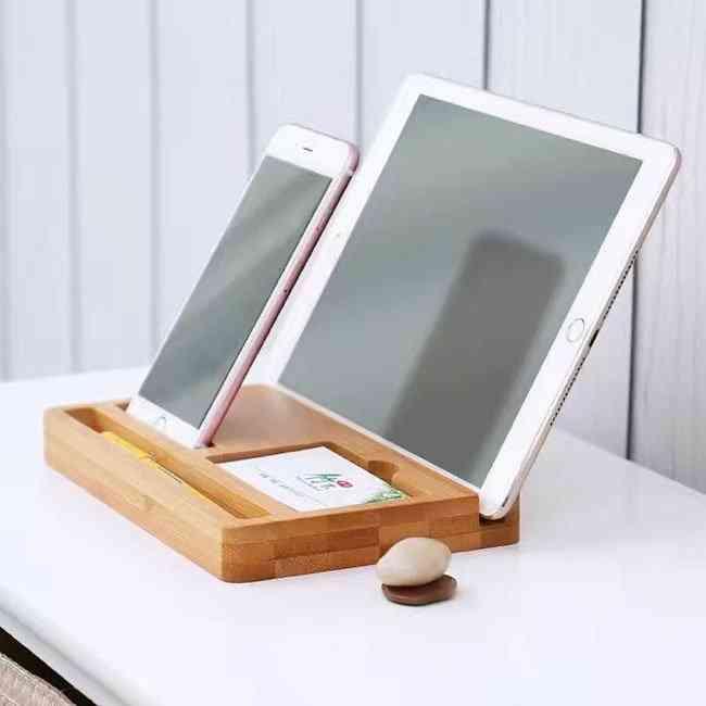 Wood Phone Stand Organizer