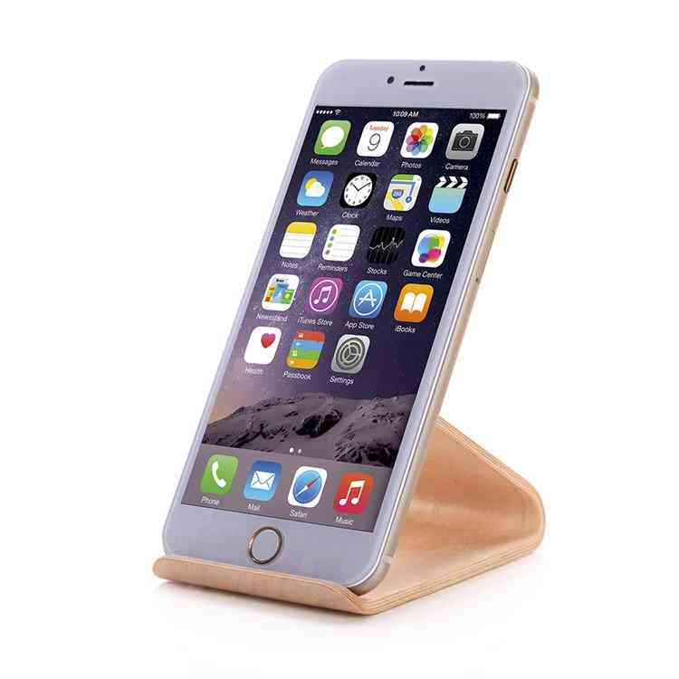 Bent Polywood Smartphone Stand