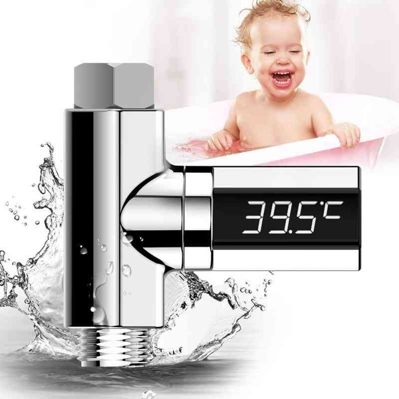 Led Baby Shower Thermometer Shower Water Display Temperture Monitor