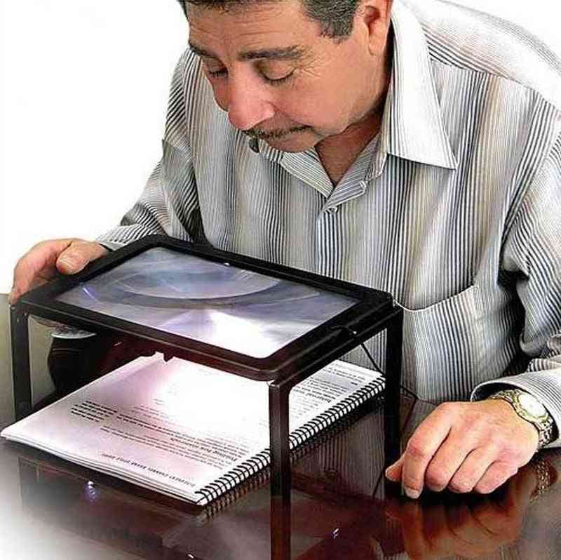 Reading Magnifier Led Reading Light