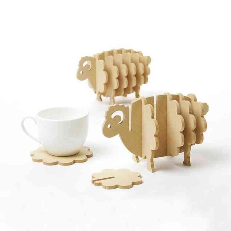 Sheep Pieces Coasters