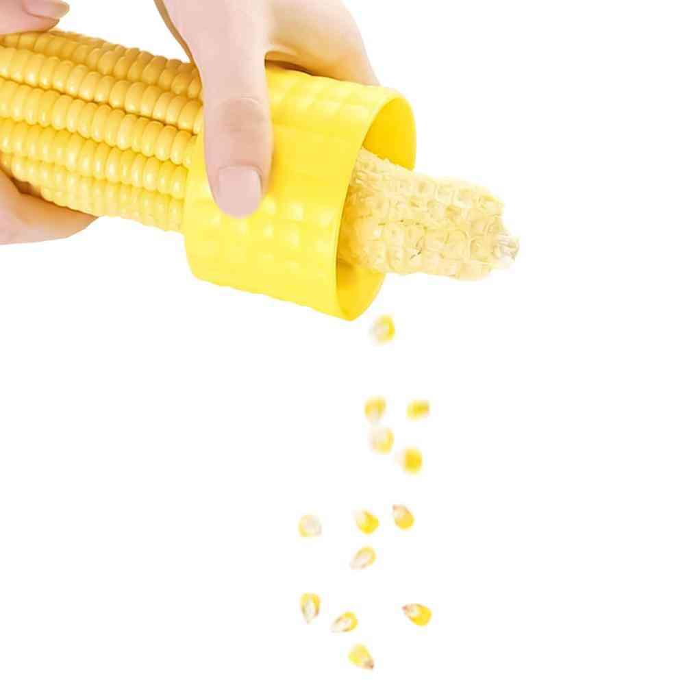 Home Gadgets Corn Stripper, Cob Cutter, Remove Kitchen Accessories Tools