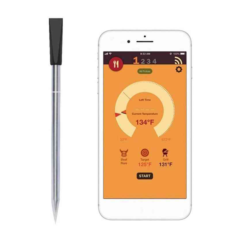 Digital Probe Meat Thermometer Kitchen Wireless Cooking Bbq Food