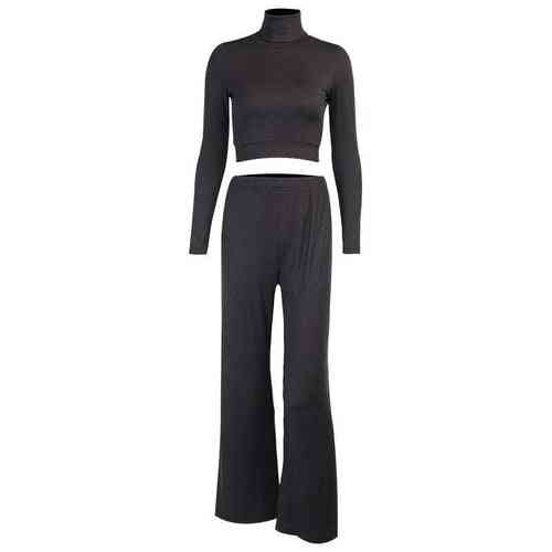 2 Piece- Casual Matching, Ribbed Suits Sets